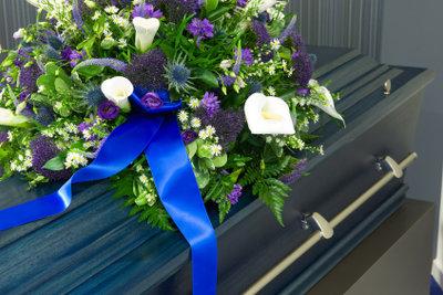 Bei einer Beerdigung geht es auch um Ehrerbietung.