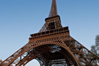 Der Eiffelturm steht für Frankreich.