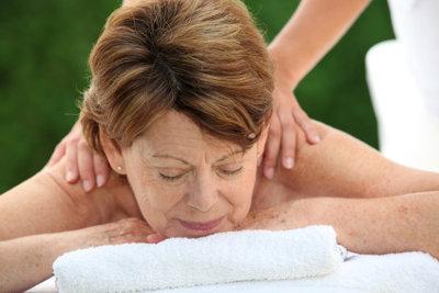 Eine Massage tut meist gut.