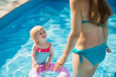 Ihre Kinder können verschiedene Schwimmabzeichen erwerben.