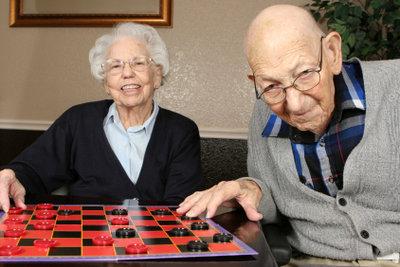 """""""Mühle"""" macht vielen Senioren Spaß."""