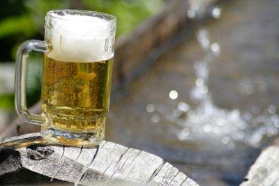 Alkoholfreis Bier, lecker und erfrischend.