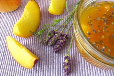 Marmelade mit Lavendelblüten - eine interessante Kombination
