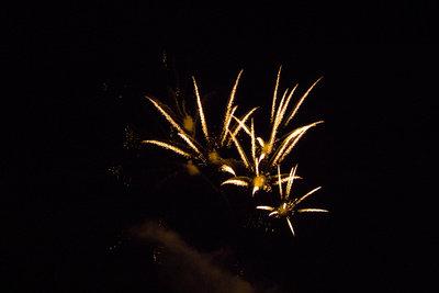 Feuerwerk vom Schiff aus beobachten