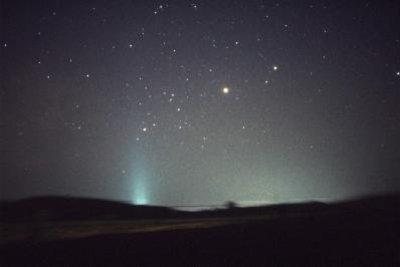 Nachts sehen wir bis zu 6000 Sterne.