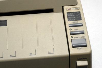 Faxgerät richtig einstellen