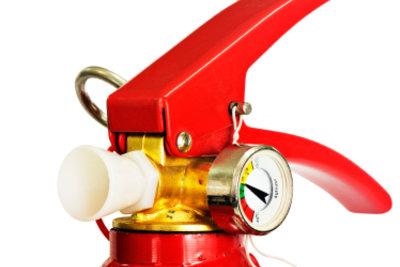 Jeder Feuerlöscher sollte regelmäßig gewartet werden.