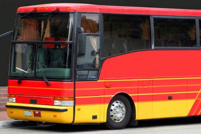 Reisebusse können von Vereinen gemietet werden.