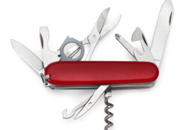 Taschenmesser gibt es viele - das Schweizer ist besonders beliebt und bekannt.
