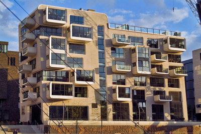 Architekten planen unter anderem Gebäude.