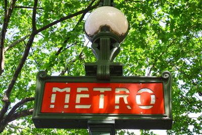 Die Metro in Paris und ihre Tücken.