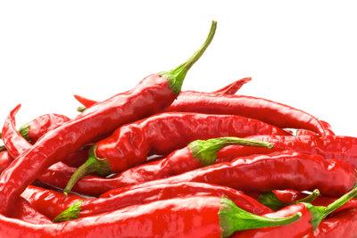 Chilis schmecken besonders lecker.