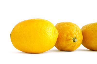 Zitronen im Chemieunterricht