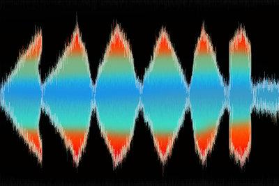 Bearbeiten Sie Ihre Sound-Loops digital am Computer.