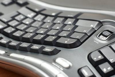 Die Funktionsweise einer Tastatur ist simpel aber effektiv.
