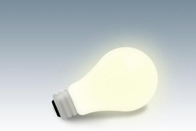 Die Erfindung der Glühbirne war innovativ.