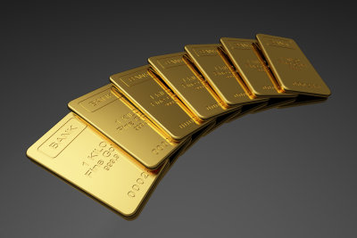 Goldbarren können anonym gekauft werden.