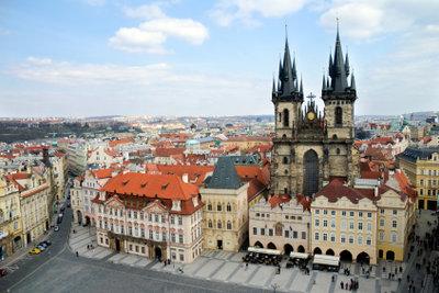 Das Medizinstudium findet im schönen Prag statt.