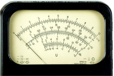 Den Schallpegel der Lautstärke messen.