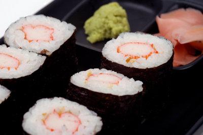 Sushi - japanische Spezialität auch in Deutschland.