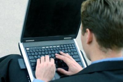 Moderne Menschen gehen mit der Zeit und Windows 7.