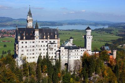 Neuschwanstein ist die Vorlage für Märchenschlösser.