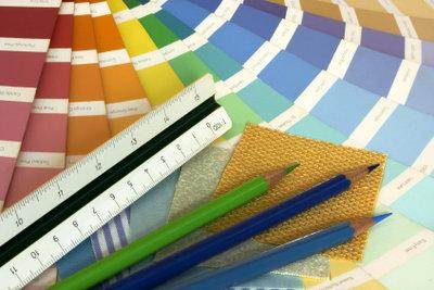 Während Ihrer Ausbildung werden Sie viel über Farben lernen.