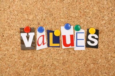 Eine moralische Instanz überwacht die Einhaltung von Werten.