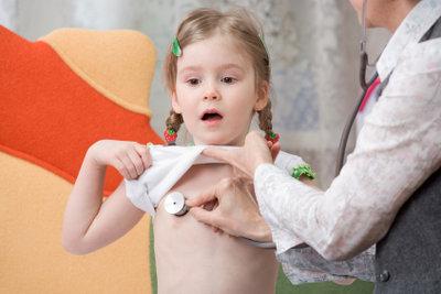 Eingangsuntersuchung beim Kinderarzt