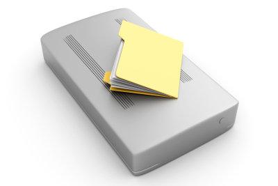 Eine Festplatte muss nach dem Formatieren wiederhergestellt werden.