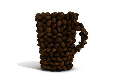 Kaffee regt die Verdauung an.