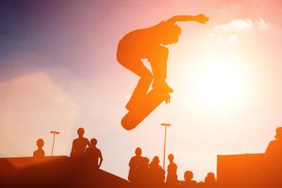 Skateborad fahren lernen Sie nur mit Geduld.