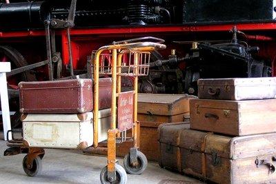 Gefundene Koffer können von schmutziger Wäsche bis teurer Technik alles enthalten