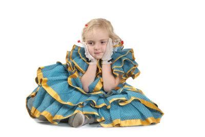 Kinder lieben Verkleidungen.