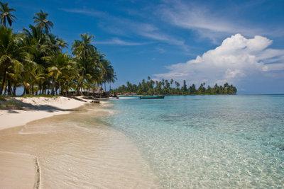 In der Karibik finden Sie überall Traumstrände.