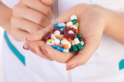 Medikamente stellen für den Pflegebedürftigen