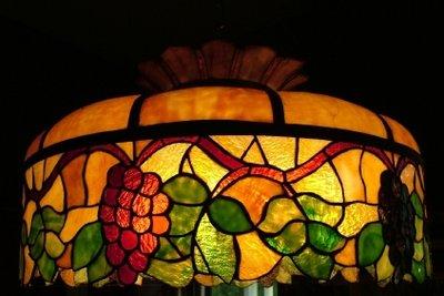 Die Tiffany-Lampe - immer ein ganz besonderes Stück.