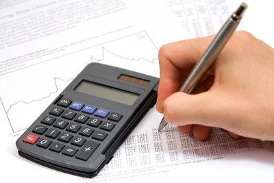 Taschenrechner mit Potenzfunktion für die Zinseszinsrechnung