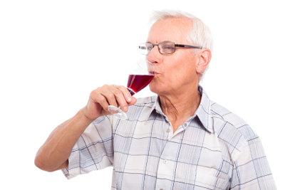 Alte Weine sind oft sehr wertvoll.