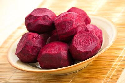 Rote Beete enthält viel Kalium.