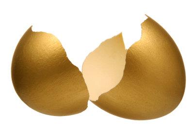 Ein Golden Egg bei Angry Birds