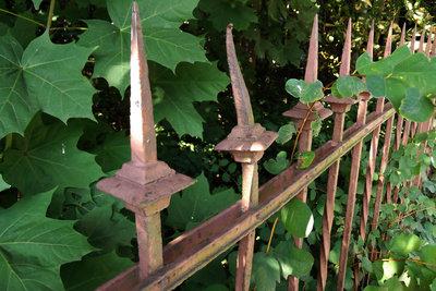 Versehen Sie Ihren Gartenzaun mit einer neuen Lackierung.