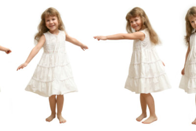 Bei dem Tanzen mit Kindern sollte der Spaß an erster Stelle stehen.