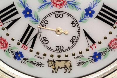 Alte Uhren haben ihren besonderen Charme.