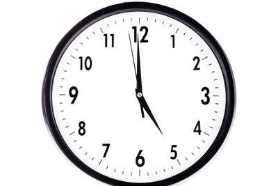 Ab 17 Uhr tritt die 14-Stunden-Regel in Kraft.