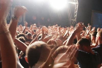 Als Veranstaltungskauffrau planen Sie große Events.