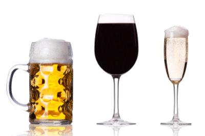 Ab 16 Jahre können Bier, Wein und Sekt gekauft werden.