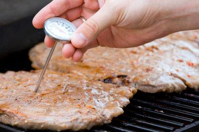 Ist das Steak auch durch?