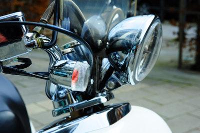 Ein Motorroller mit 250ccm eignet sich für Langstrecken.