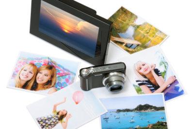 Digitale Bilderrahmen sind eine praktische Ergänzung zur Digitalkamera.